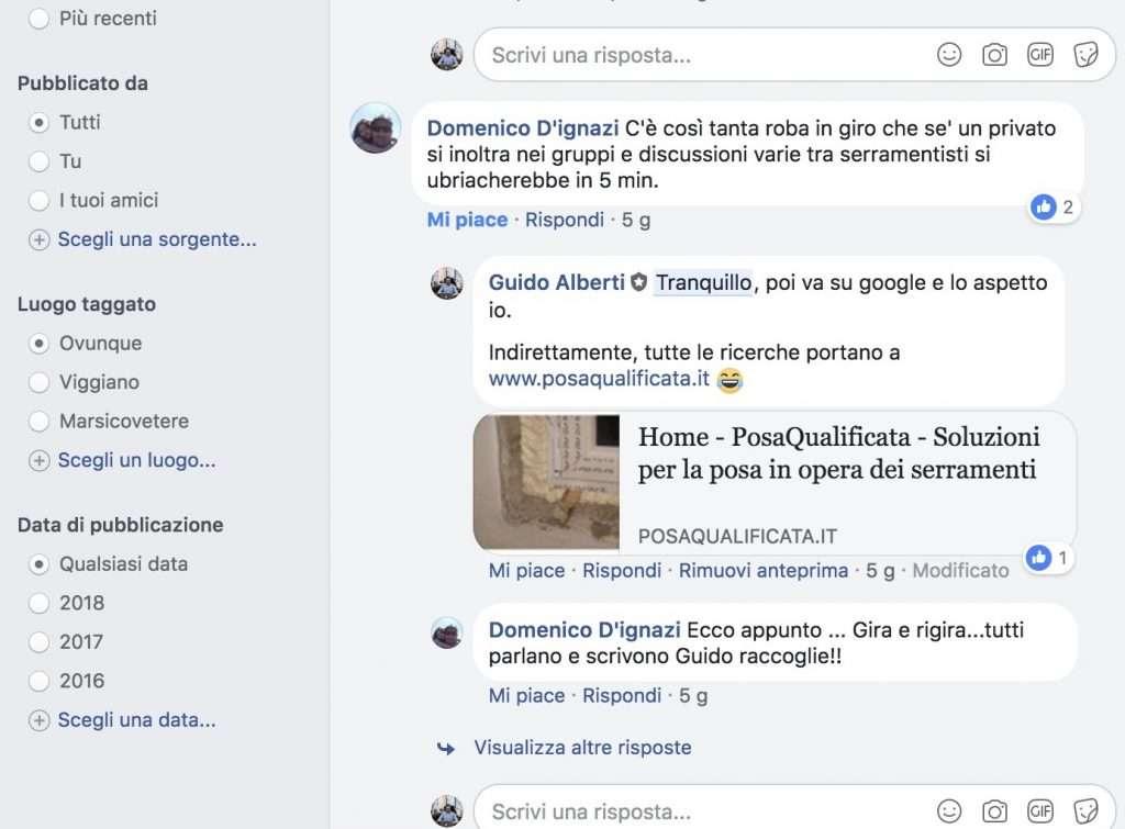 Blog per Serramentisti