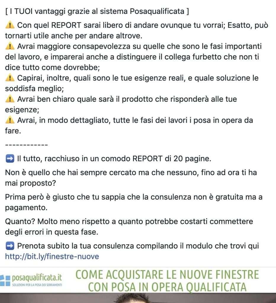 Marketing Vendre Serramenti
