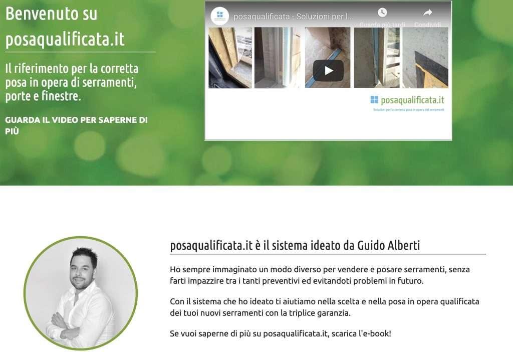 sito web per vendere serramenti