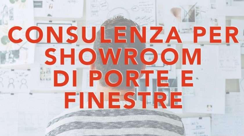 Consulenza showroom porte e finestre