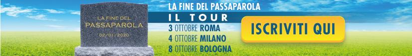 Tour Sistema Finestra La Fine del Passaparola
