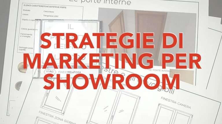 strategie di marketing showroom serramenti