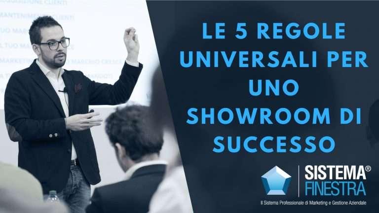 Showroom di successo