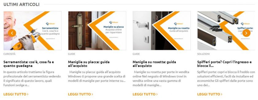 vendere serramenti windowo blog