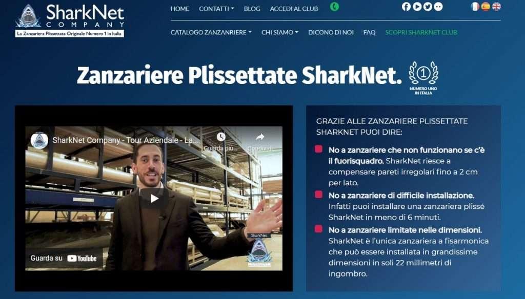 vendere zanzariere sharknet